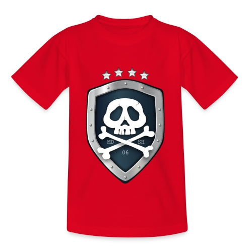 champion's league skull 06 - T-shirt Ado