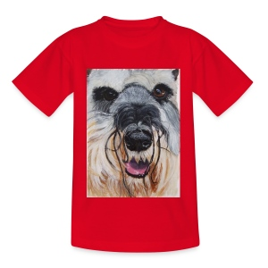 schnauzer - Teenager-T-shirt