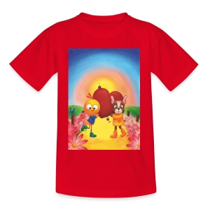 Herzhüpfen - Teenager T-Shirt