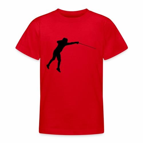 Jumping Fencer - Teenager T-Shirt