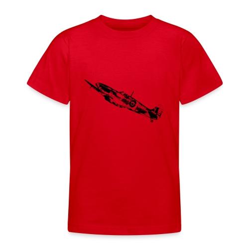 World War Spitfire - Teenage T-shirt
