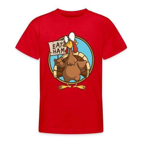 Truthahn Pute Weihnachten Thanksgiving - Teenager T-Shirt