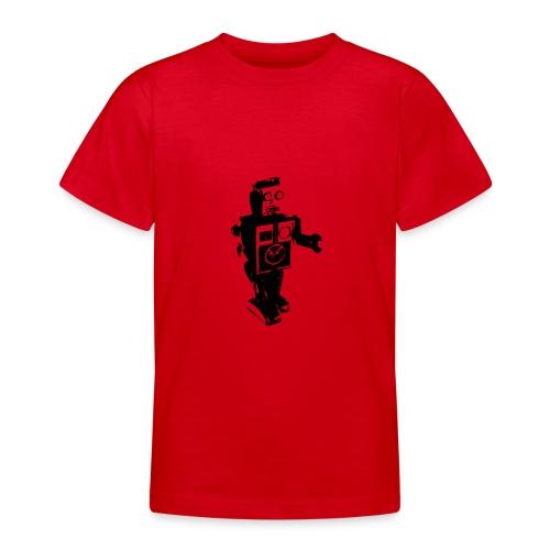 robot 4 - Teenage T-shirt