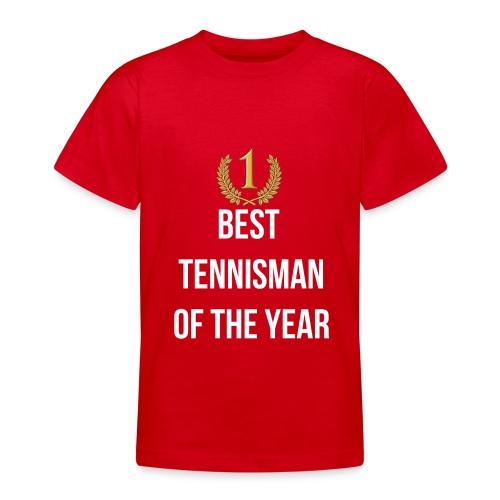 Best tennisman of the year - T-shirt Ado