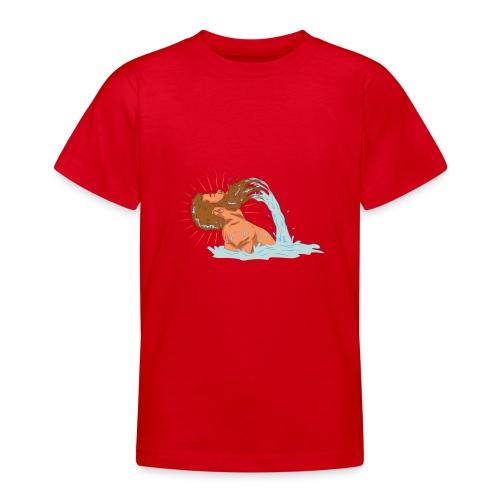 Bart Welle - lustiges Geschenk für Männer mit Bart - Teenager T-Shirt