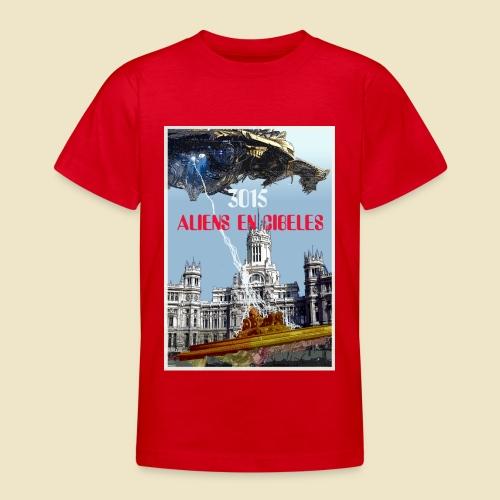 PLAZA DE CIBELES - Camiseta adolescente