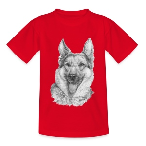 Schæfer German shepherd - Teenager-T-shirt