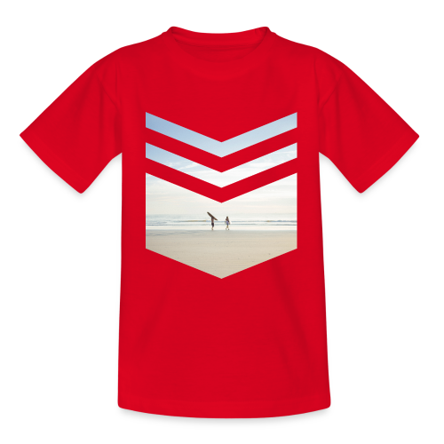 Surf Beach Triangle - Teenager T-Shirt
