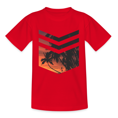 Palm Beach - Teenager T-Shirt
