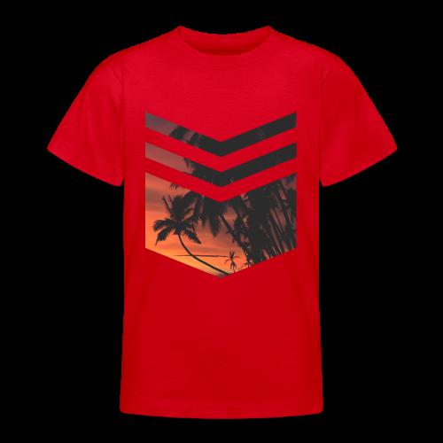 Palm Beach Triangle - Teenager T-Shirt