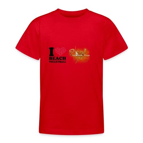 I Love BeachVolley PalaBeach - Maglietta per ragazzi