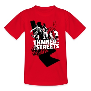 Trained in the Streets - Teenage T-shirt