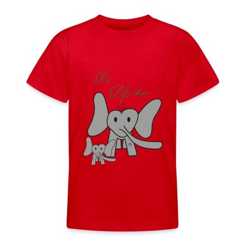 Eles Elefanten - Teenager T-Shirt