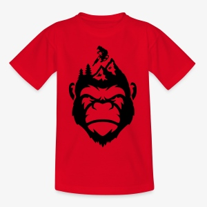 MonkeyzGoDownhill Head - Teenager T-Shirt