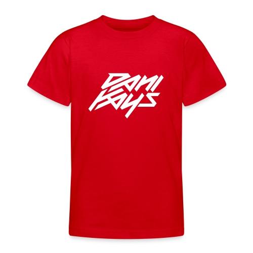 Dani Kays White - T-shirt tonåring
