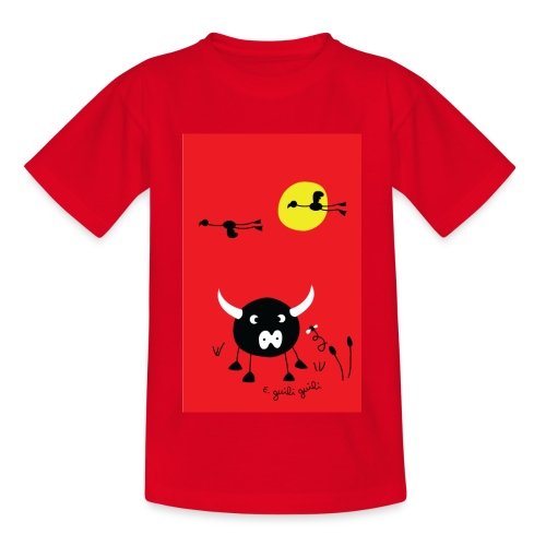 rouge camargue - T-shirt Ado