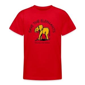 Babyelefant - Save The Elephants - Teenager T-Shirt