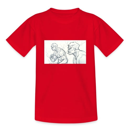 Drawing_1-jpg - Teenage T-shirt