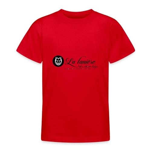 La Tanière des Chiens-Loups(logo plus grand) - T-shirt Ado