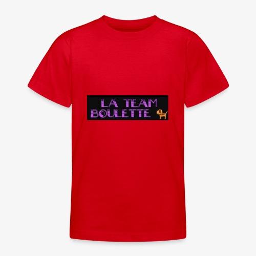 La team boulette - T-shirt Ado