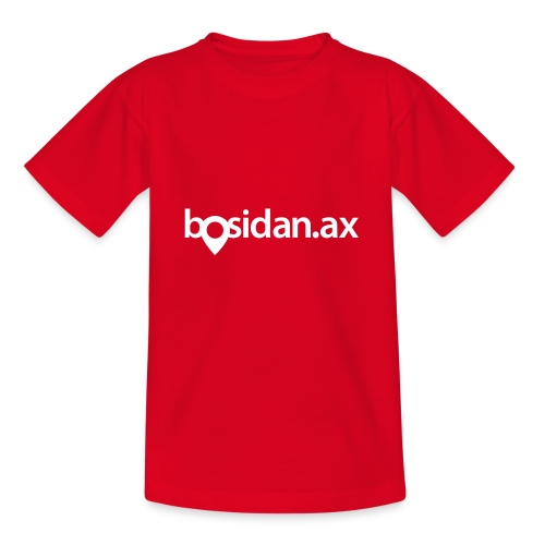 Bosidan.ax officiella logotypen - T-shirt tonåring