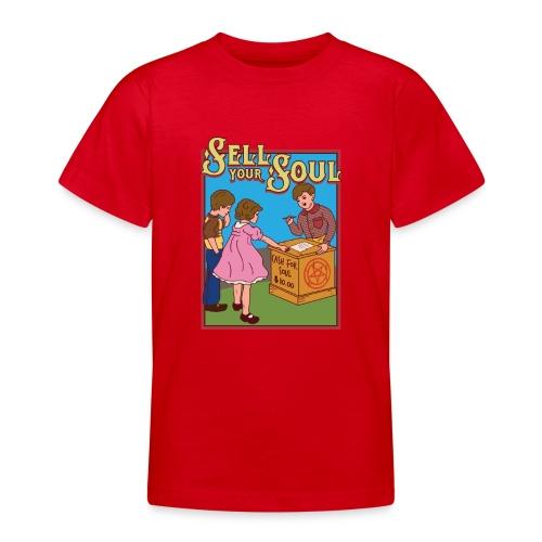 Sell your soul - Verkauf Deine Seele - Teenager T-Shirt