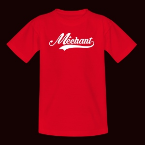 mechant_logo_white - T-shirt Ado