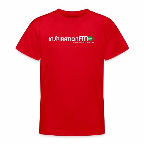Inspiration FM 107.8 FM Logo Merchandise - Teenage T-shirt