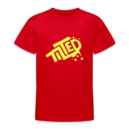 Fortnite Tilted (Yellow Logo) - Teenage T-Shirt