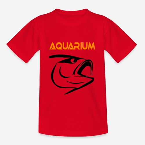 Aquarium fish keepers - Teenager T-shirt