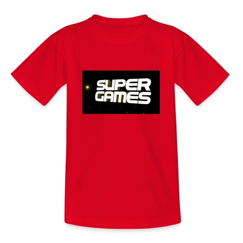 #SuperGames - Teenager T-Shirt