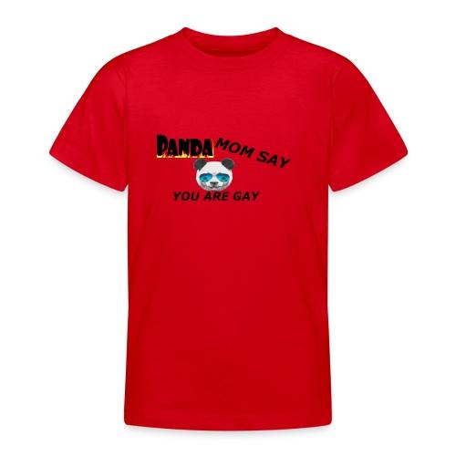 Marlon`s Panda MAMA - Teenager T-Shirt