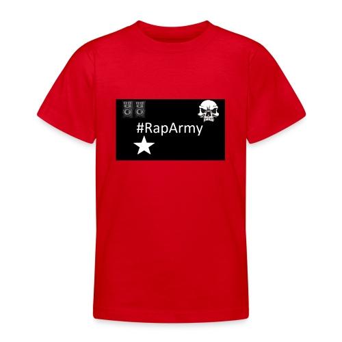 RapArmy Logo - Teenager T-Shirt