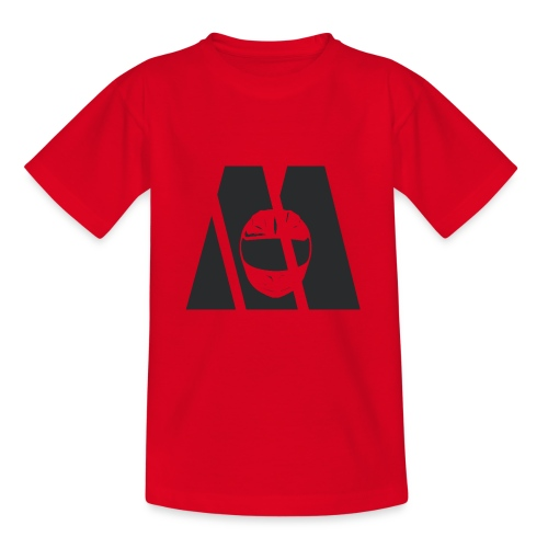 Motocyc Logo, schwarz - Teenager T-Shirt