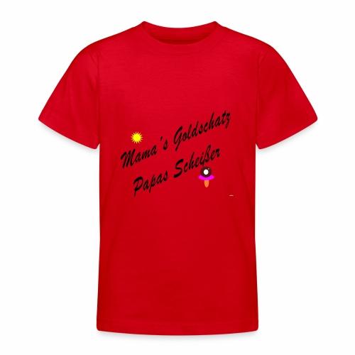 mamas goldschatz - Teenager T-Shirt