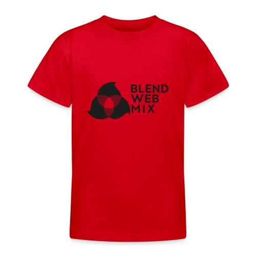logo noir - T-shirt Ado
