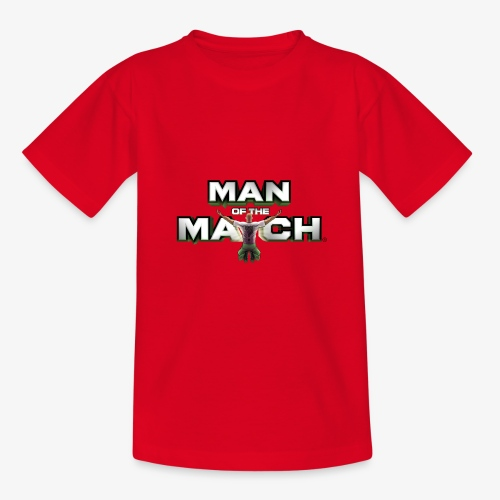 MAN OF THE MATCH® - Teenage T-Shirt