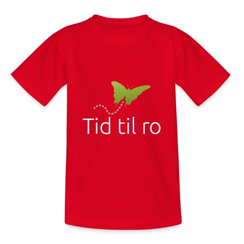 Tid til ro - Teenager-T-shirt