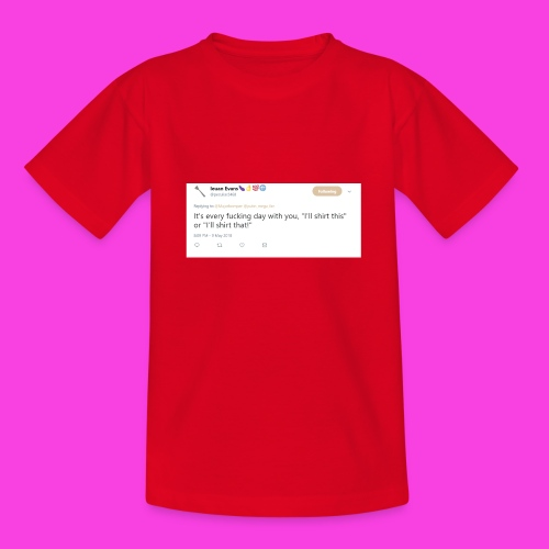 Ieuan Tweet - Teenage T-Shirt