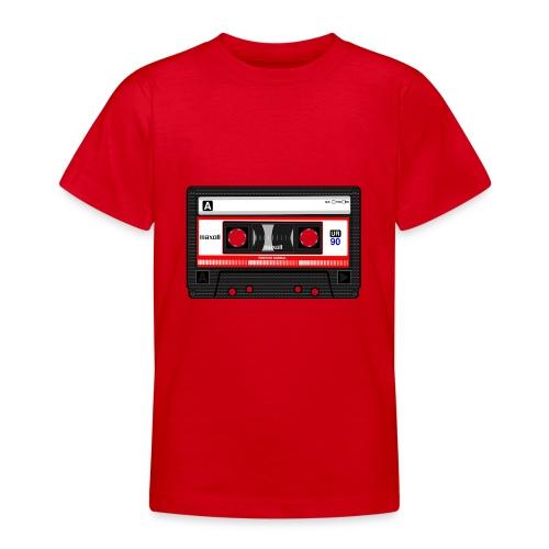 Compact Cassette Tape denola - Teenager T-Shirt