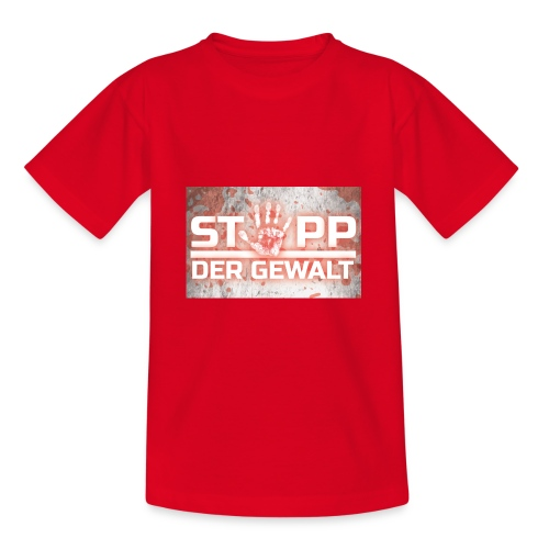 STOPP DER GEWALT - Teenage T-Shirt