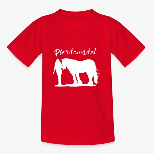 Pferdemädel - Teenager T-Shirt