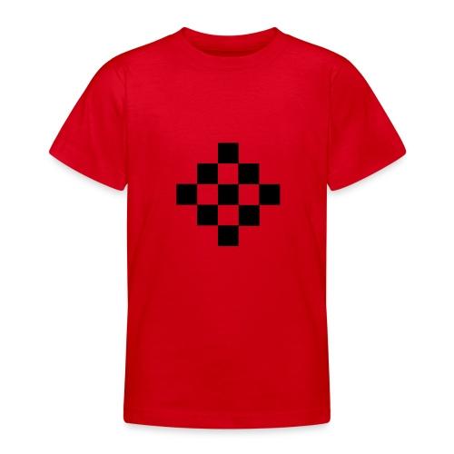 quadrillage - T-shirt Ado