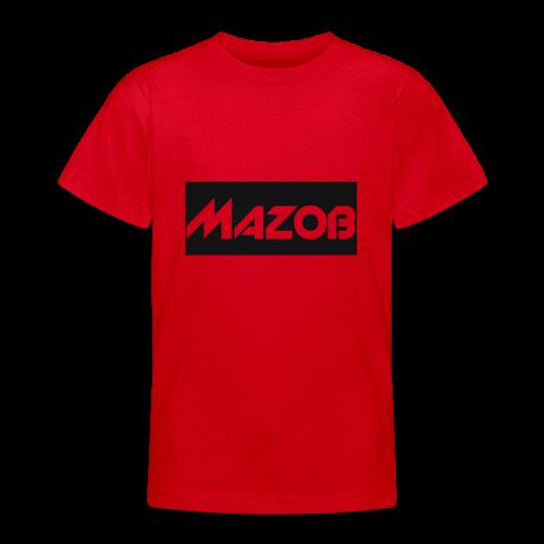 Mazob_Shirt_Design - Teenage T-Shirt