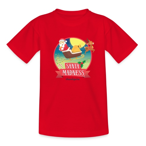 Santa Madness winner - Maglietta per ragazzi