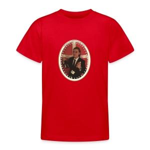 skjærrispresident - T-skjorte for tenåringer
