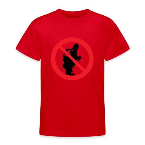 Jylland forbudt - Børnekollektion - Teenager-T-shirt