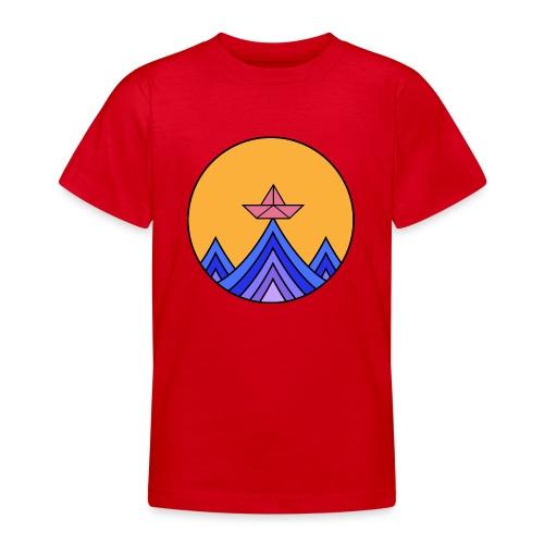 papierboot2 - Teenager T-Shirt