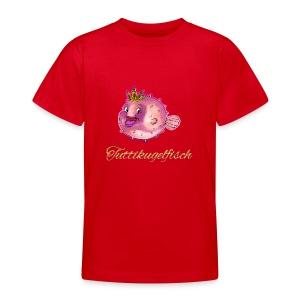 Tuttikugelfisch - Teenager T-Shirt
