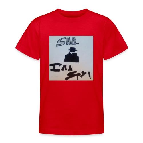 Shhhhhhh... Im a spy - Teenage T-shirt